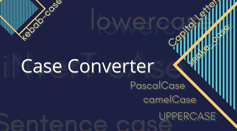 Case Converter online text tool