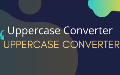 Uppercase Converter