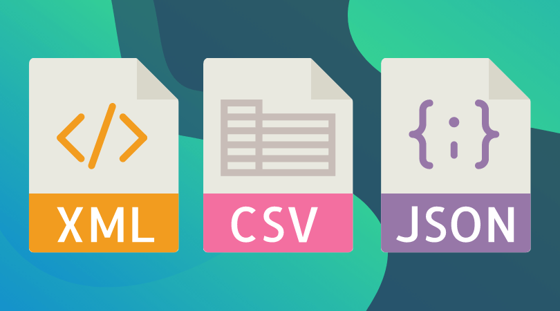 XML, CSV, and JSON Data Formats in Practice